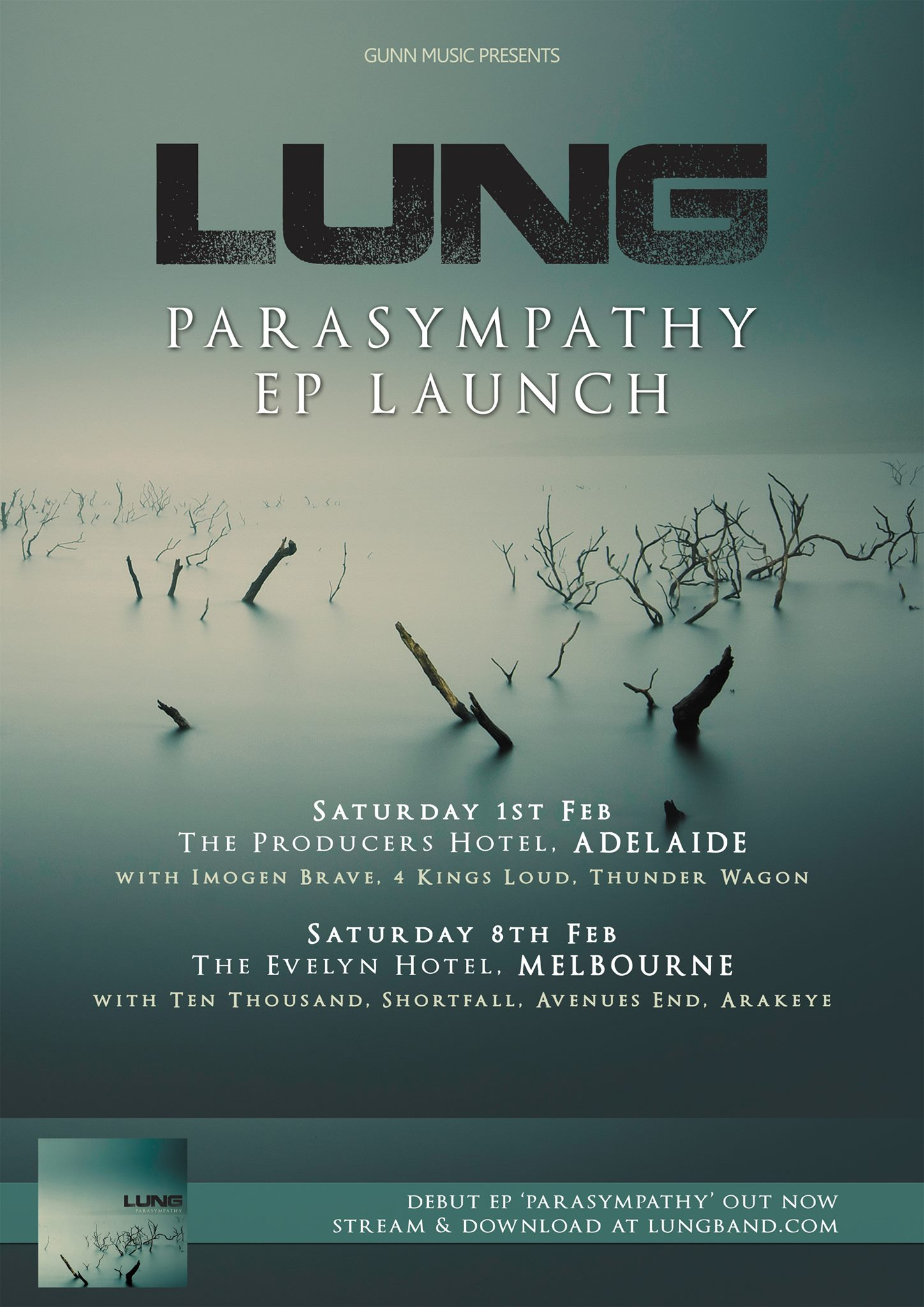 ten thousand poster lung ep launch